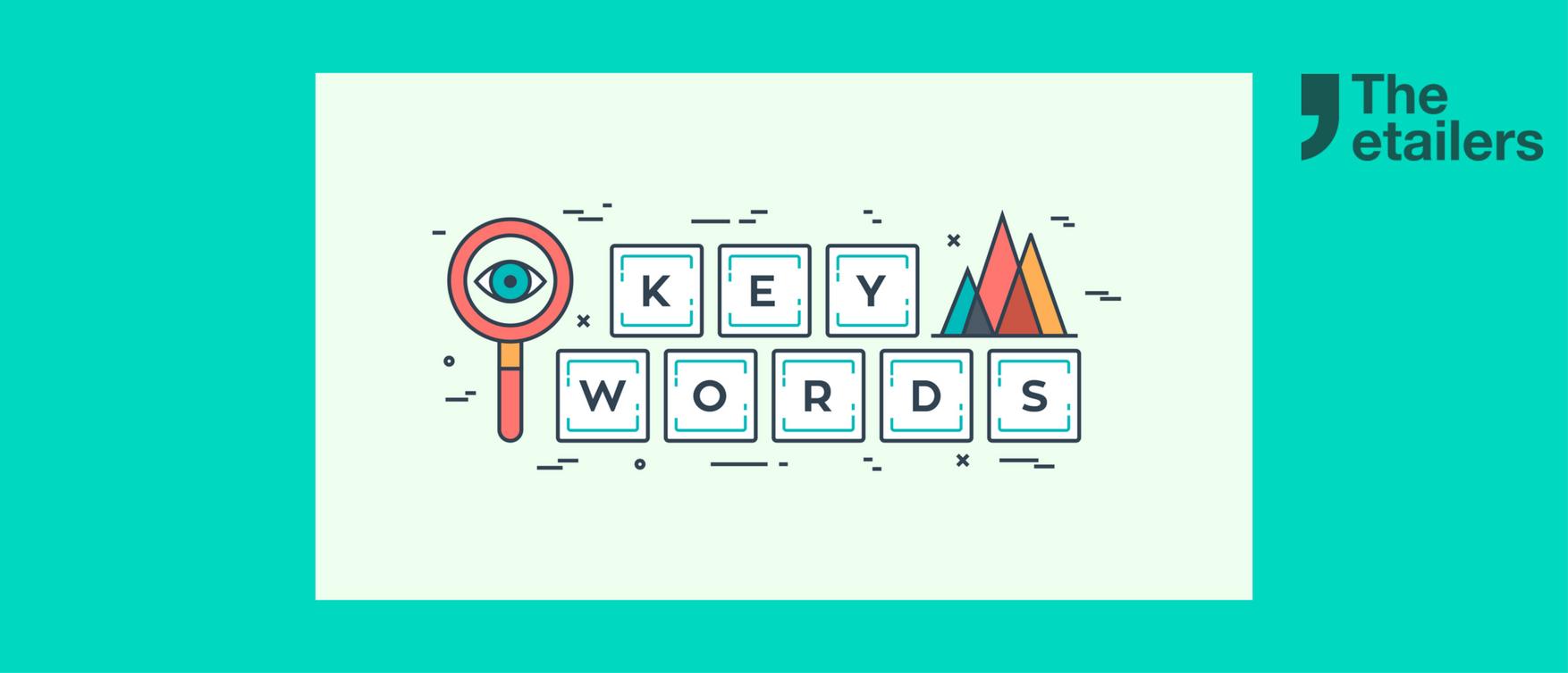 Lista de palabras clave